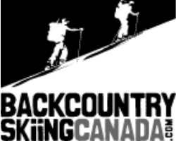 black country skiing Canada logo