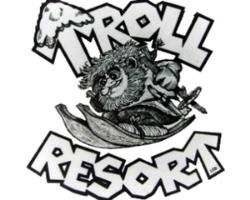 troll resort logo