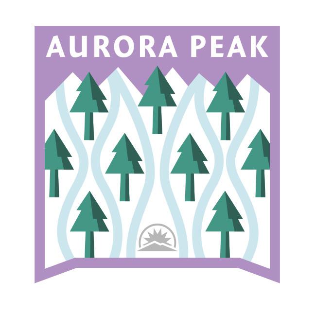 Aurora Peak Badge