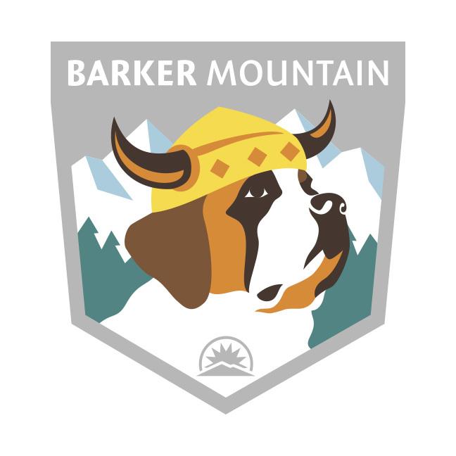 Barker Mountain Badge