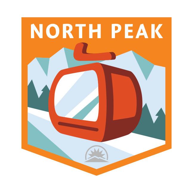 North Peak Badge