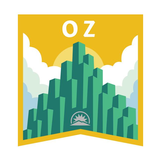 Oz Badge